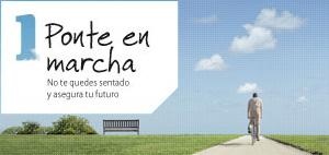 banner 'ponte en marcha' de Allianz