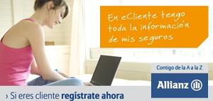 banner 'registrate' en Allianz