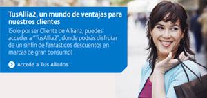 banner 'tus Aliados' deAllianz