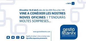 banner inauguracio oficines Gestio Felanitx