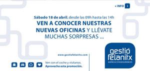 banner inauguracion oficinas Gestio Felanitx